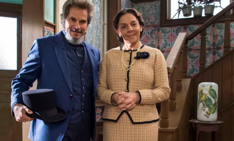 Dom Sabino e Agustina ficaram ainda mais elegantes