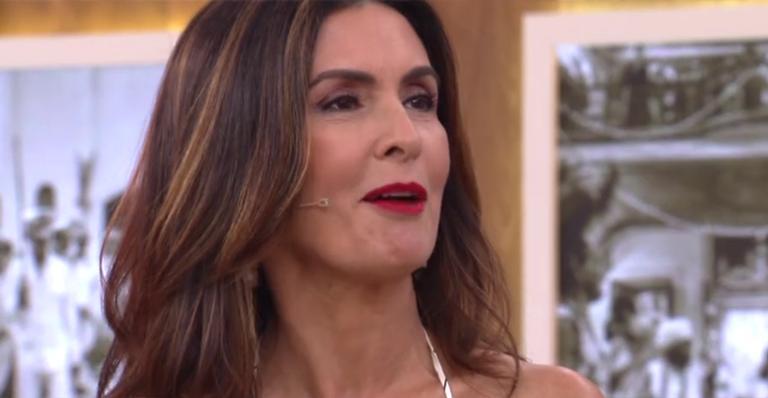 Fátima Bernardes no 'Encontro'