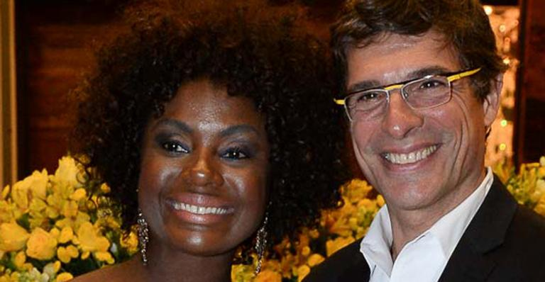 Adriana Alves e Olivier Anquier