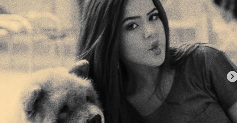 Maísa Silva lamenta morte de cachorrinho