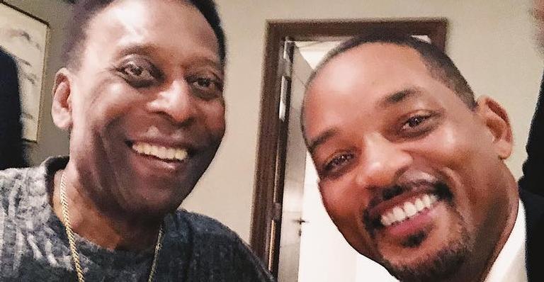 Pelé e Will Smith