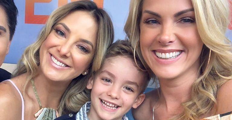 Ticiane Pinheiro, Alexandre Júnior e Ana Hickmann