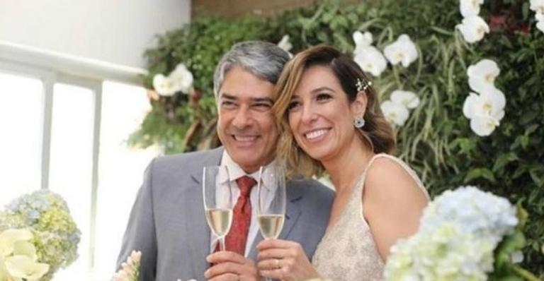 Natasha Dantas celebra primeiro mês casada com William Bonner: