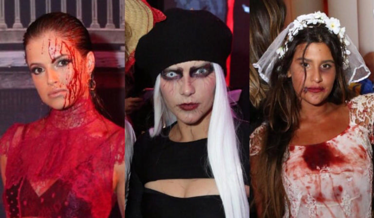 Famosos arrasaram no look e make para o Halloween do Copa