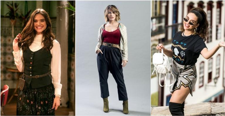 Moda de novela - Inspire-se nos looks de Marocas, Betina e Mariane