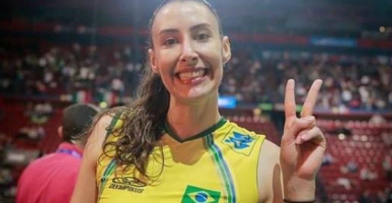 Nasce gêmeas da jogadora de volei, Sheilla Castro