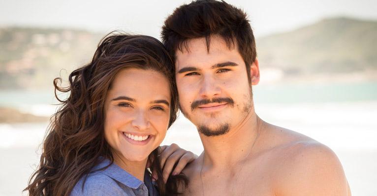 Atores interpretam o casal Samuca e Marocas em O Tempo Não Para