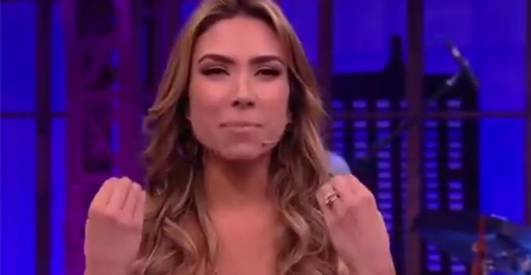 Patrícia Abravanel alfineta elenco da TV Globo