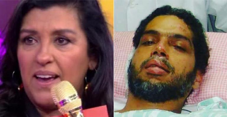 Regina Casé desabafa sobre drama do marido