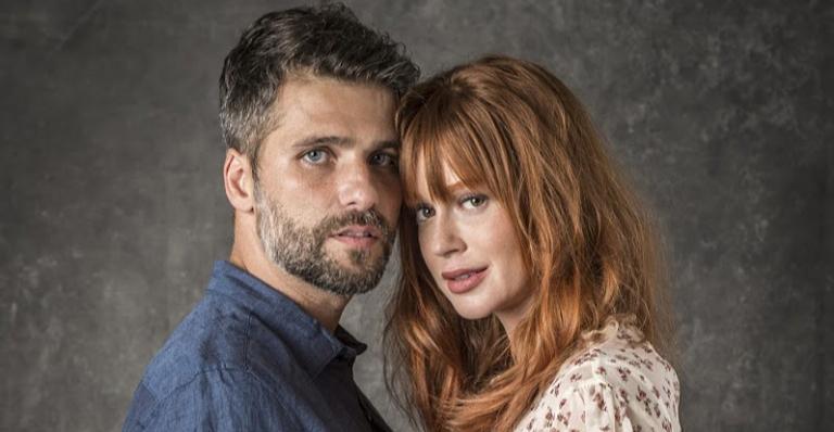 No capítulo do sábado 17, Gabriel confessa que está se apaixonando por Luz e a beija