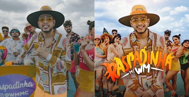 MC WM lança seu novo single, Raspadinha