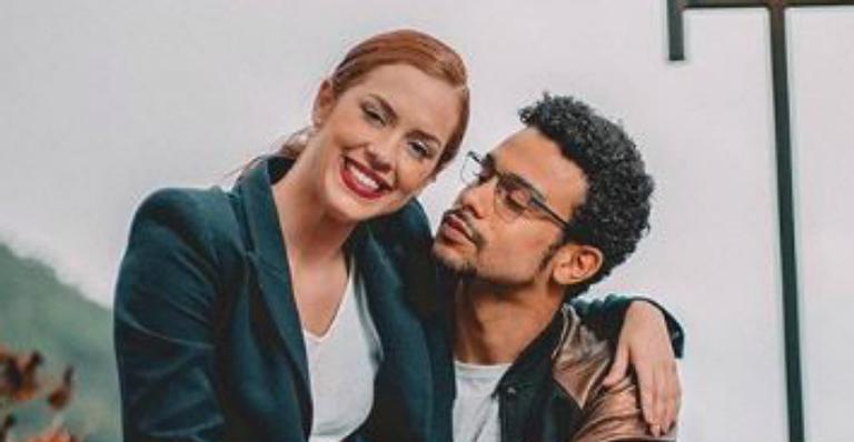 Sophia Abrahão e Sergio Malheiros celebram 4 anos de namoro