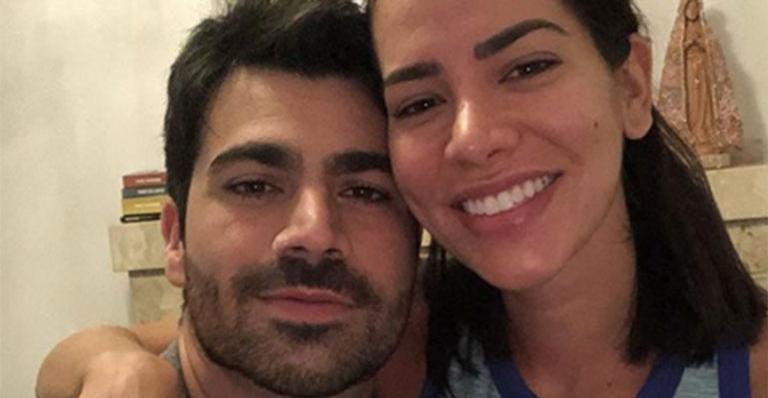 Rodrigão e Adriana Sant'anna