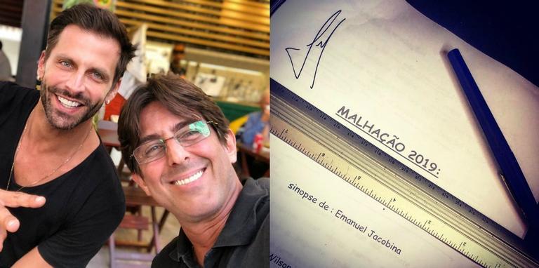 Diretor e protagonista da nova temporada da novela jovem são parceiros desde a minissérie 'Hilda Furacão'