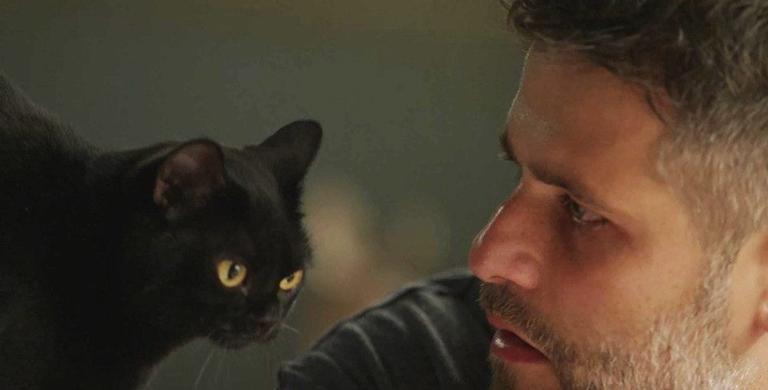O gato salva Gabriel mais uma vez