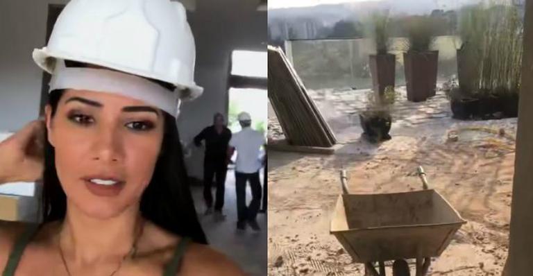 Simaria mostra os bastidores da nova mansão e deixa fãs boquiabertos