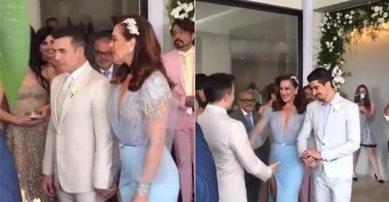 Claudia Raia se casa com Jarbas Homem de Mello em cerimônia íntima e discreta