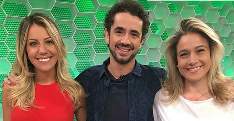 Apresentadora se despede do time de esportes da Globo com último encontro no estúdio do programa
