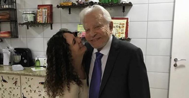Fátima e Cid Moreira
