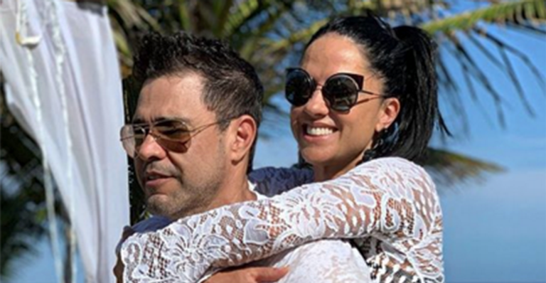 Zezé Di Camargo e Graciela Lacerda