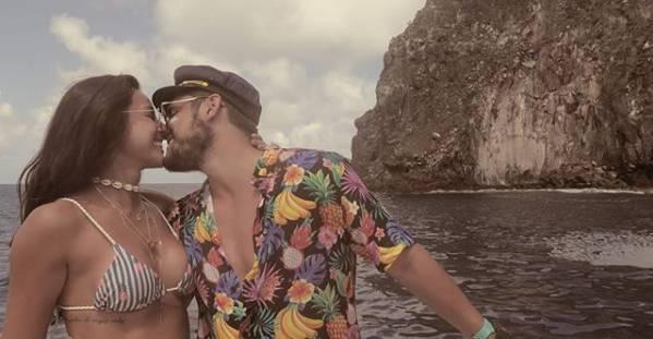 Bruno e Yanna em Fernando de Noronha