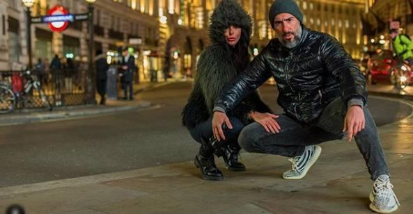 Marcos Mion e Suzana Gullo na Inglaterra