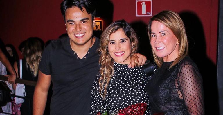 Igor, Camilla e Zilu Camargo