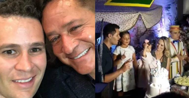 Pedro Leonardo comemora primeiro ano da caçula com festão em SP: ''Tudo maravilhoso''