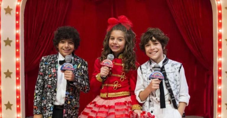 O trio faz muito sucesso