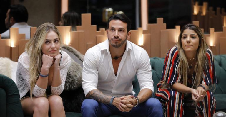Paula, Gustavo e Hariany não esperavam estar na berlinda