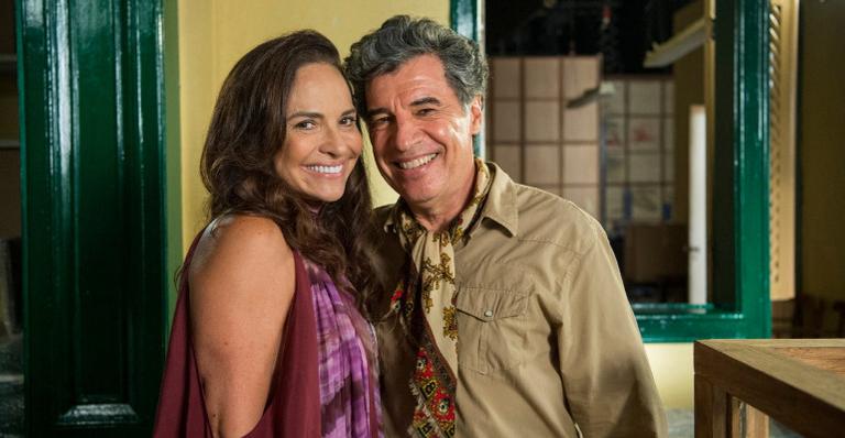 Luiza e Paulo dizem adeus à novela