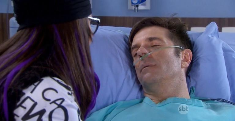 No capítulo da sexta 08, Orlando morre nos braços de Isabela
