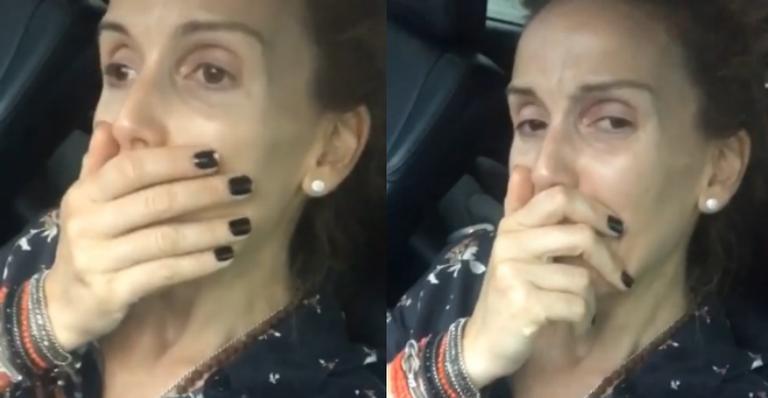 Mariana Ferrão se emociona ao falar sobre a morte de Boechat