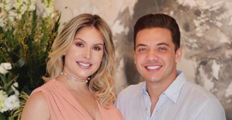 Wesley Safadão comemora aniversário da mãe, do filho e da esposa, Thyane