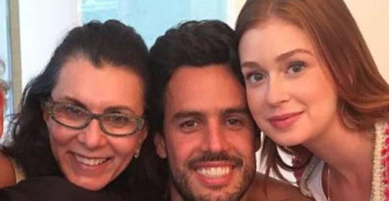 Sogra de Marina Ruy Barbosa se pronuncia em apoio à atriz