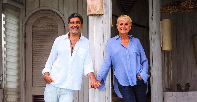 Junno Andrade e Xuxa Meneghel