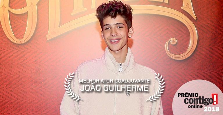 Prêmio CONTIGO! Online 2018: Melhor ator coadjuvante - João Guilherme