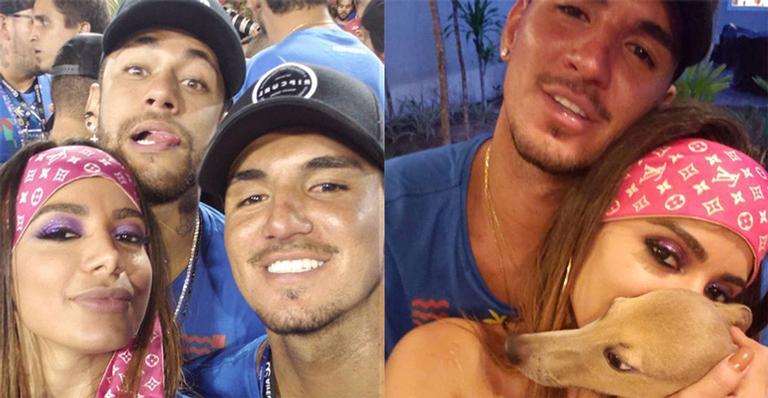 Anitta Beija Neymar Jr E Leva Gabriel Medina Para Sua
