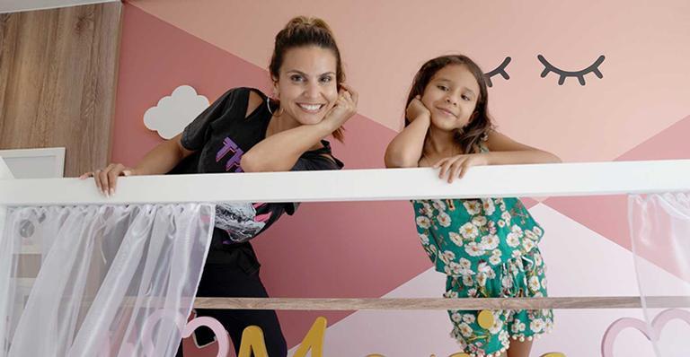 Maria Catherine e Aline Barros