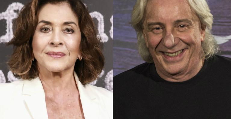 Betty Faria e Marco Nanini