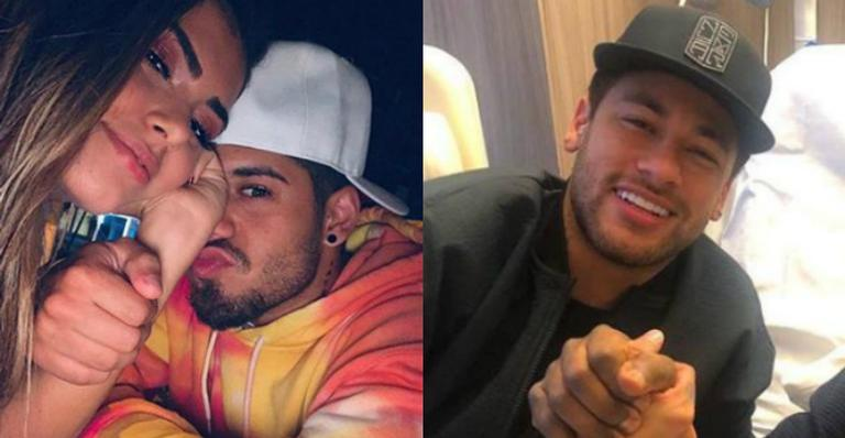 Após recado de Zé Felipe, Neymar e Medina ironizam postagem: ''Tô rindo muito''