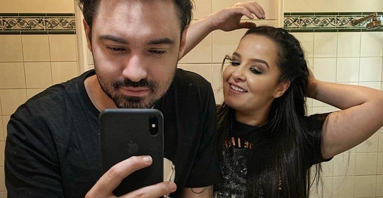 Fernando E Maiara Trocam Juras De Amor Na Web: 'Eu Cuido