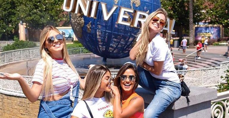 O grupo de ex-sisters aproveitou os últimos momentos em Orlando: ''Minhas meninas''