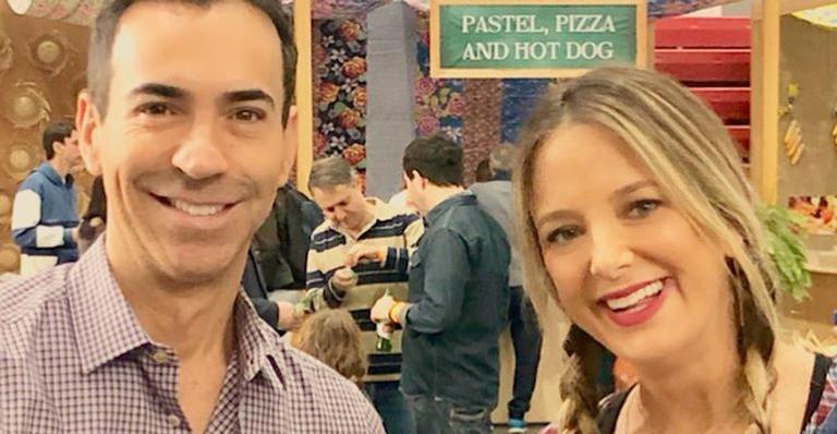 Ticiane Pinheiro, César Tralli e Rafaella Justus
