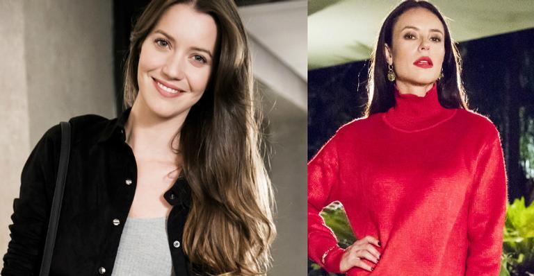 Nathalia Dill e Paolla Oliveira em 'A Dona do Pedaço'