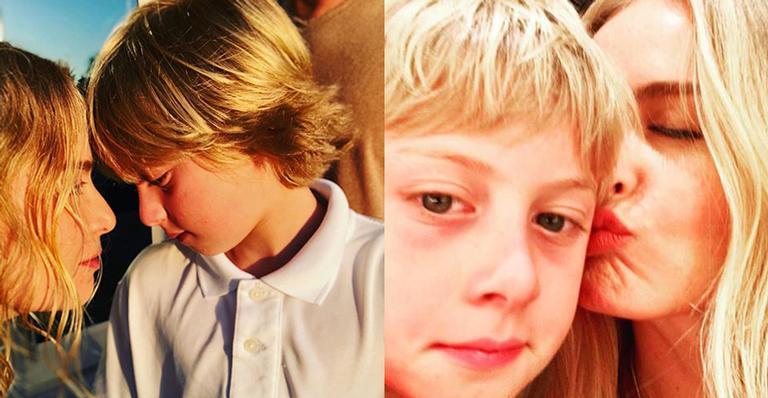 Apresentadora emociona ao falar de acidente do filho: 'O que a gente sente é, literalmente, dor'
