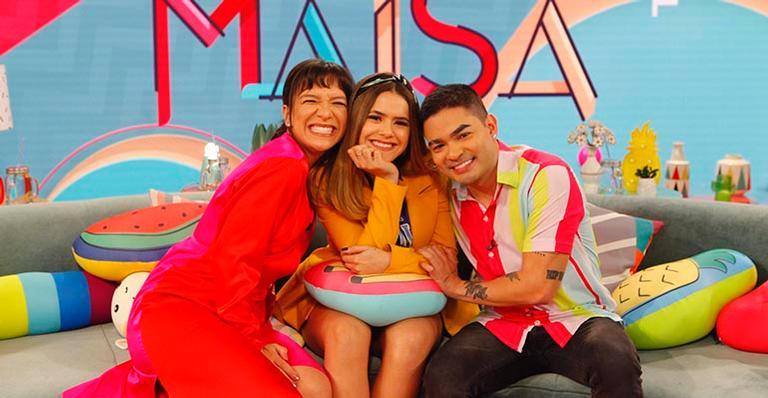 Recebendo Priscilla Alcântara e Yudi Tamashiro, apresentadora revelou quem foi sua primeira paixonite na televisão