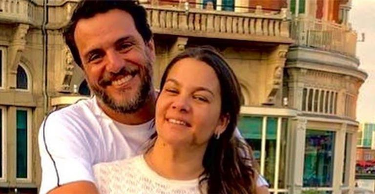 Rodrigo Lombardi e a mulher, Betty Baumgarten