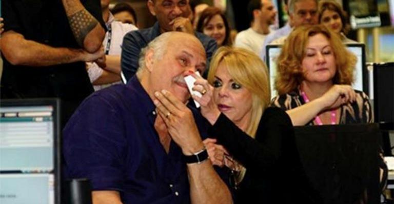 Marcio Canuto e sua esposa, Libia Mafra