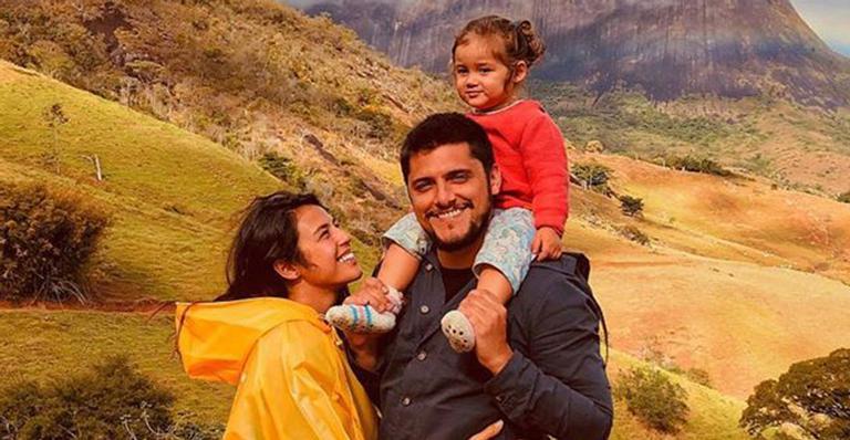 O ator deixou os fãs de coração derretido ao mostrar momento divertido com a filha de 2 anos